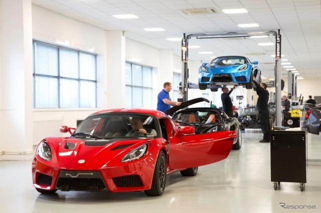 新型EVスポーツカー『SP:01の生産を英国工場で開始