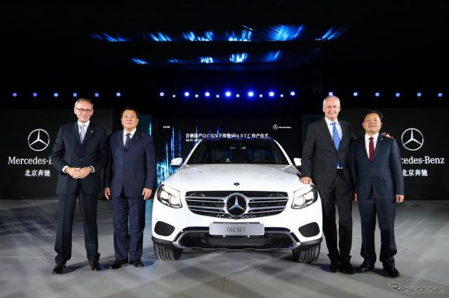 メルセデス GLC の中国現地生産を開始