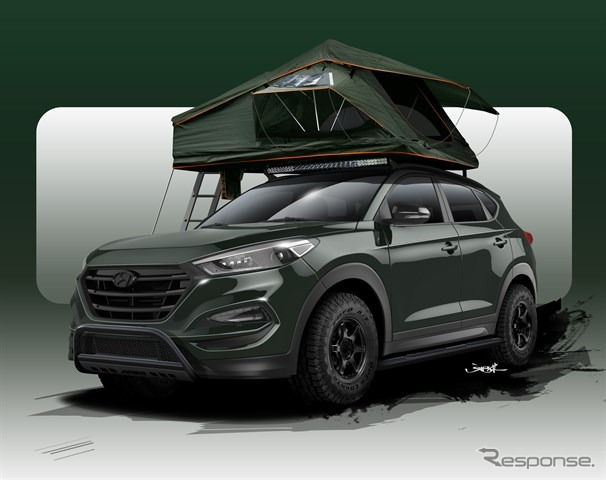 新型ヒュンダイツーソンのカスタマイズカー