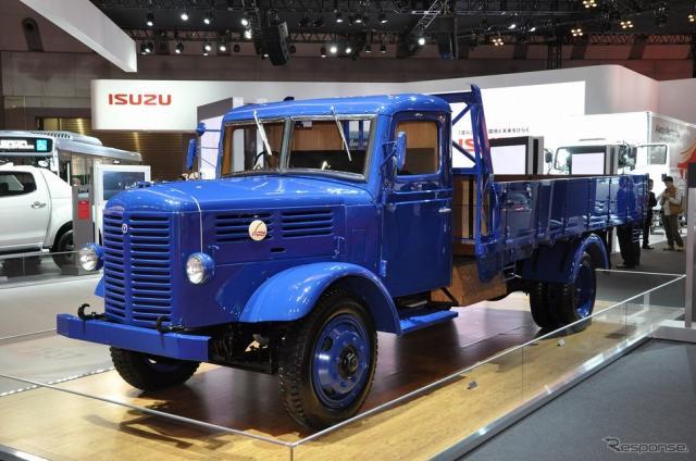 いすゞ TX80型5t積みトラック(東京モーターショー15)《撮影 嶽宮三郎》