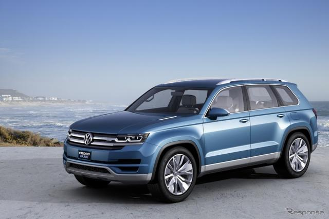 VW クロスブルーSUV