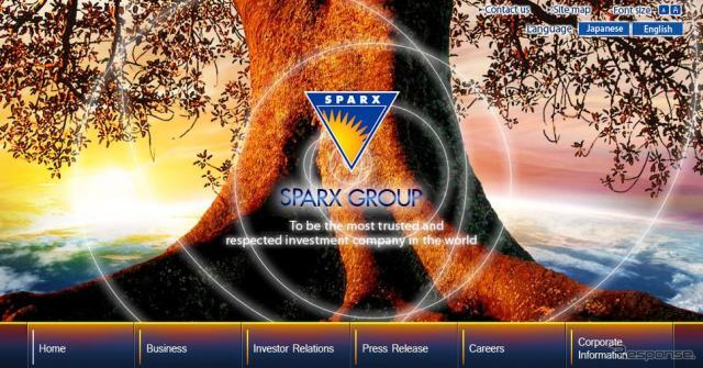スパークスグループ(webサイト)