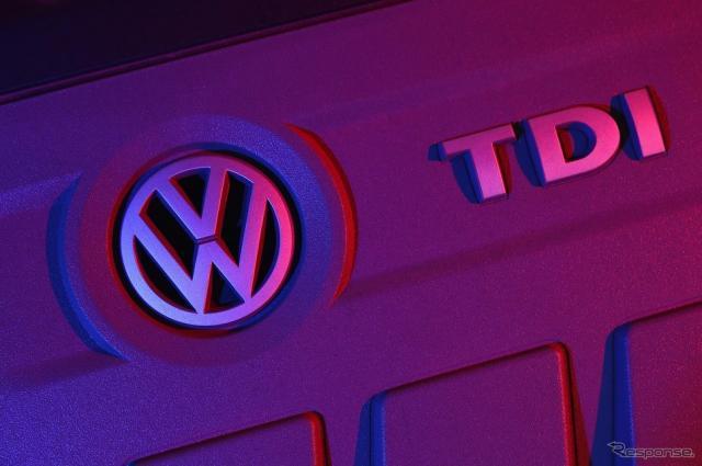 フォルクスワーゲンのターボディーゼル「TDI」エンジン《写真 Getty Images》