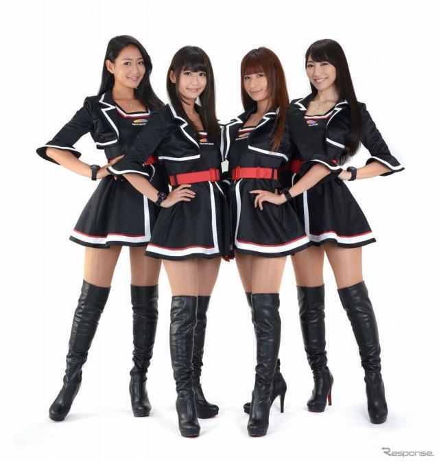 東京オートサロン2016イメージガール「A-class」《画像 東京オートサロン事務局》