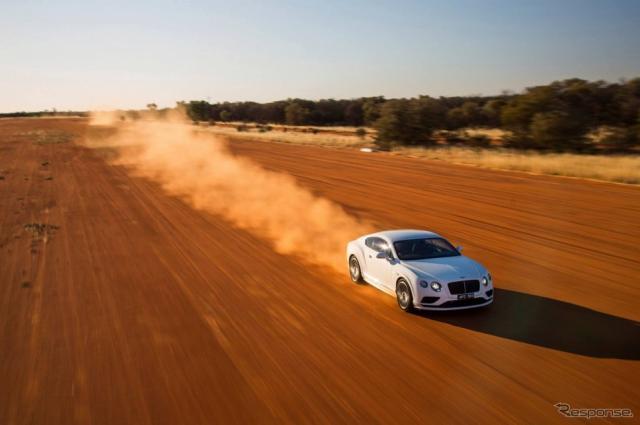 ベントレー コンチネンタル GTスピード 最高速チャレンジ