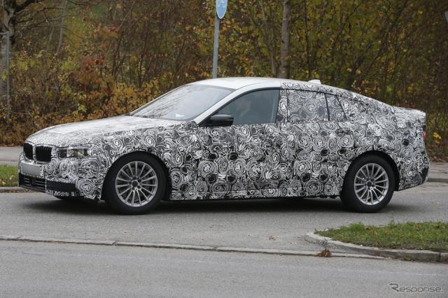 BMW 5シリーズGT スクープ写真《APOLLO NEWS SERVICE》