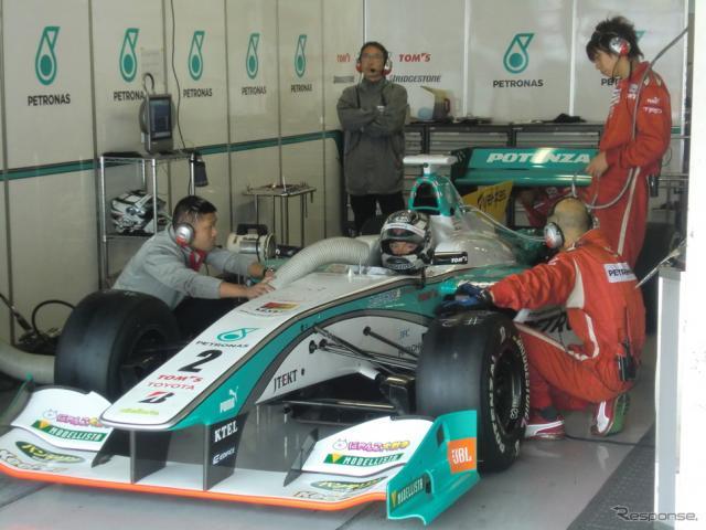 #2 ロッテラーは第1レースがポールで、第2レースは予選2位。撮影:遠藤俊幸