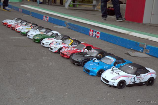 タミヤRCカーグランプリ「メディア対抗 ロードスター耐久レース」
