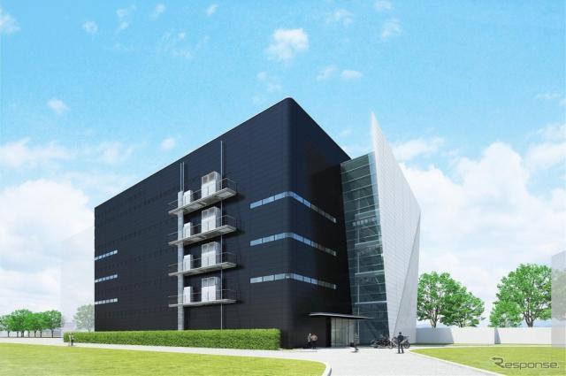 ヤマハ発動機 新デザイン棟完成イメージ