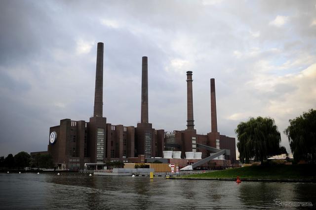 ドイツ・ウォルフスブルクのVW工場(参考画像)《写真 Getty Images》