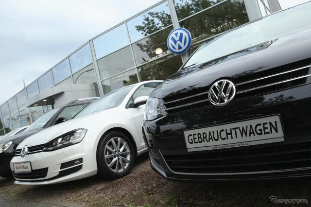 VW販売店(資料画像)《写真 Getty Images》