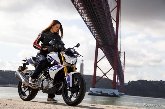 発表間近とウワサされるBMW Motorrad G310R。《画像 BMW Motorrad》
