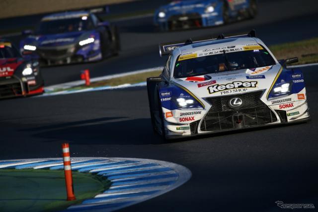 ポール発進の#37 RC FがGT500クラス決勝を制す。写真:益田和久