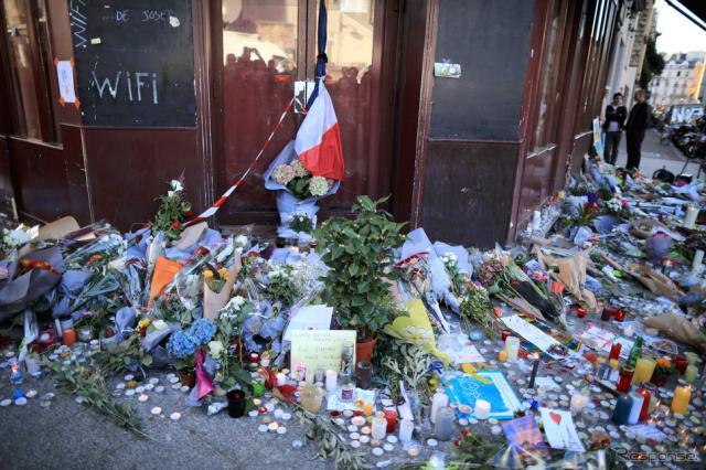 11月13日夜(日本時間14日早朝)にパリ中心部のコンサートホールやサッカー場など6か所を標的とした同時多発テロ事件が発生した《画像 Getty Images》
