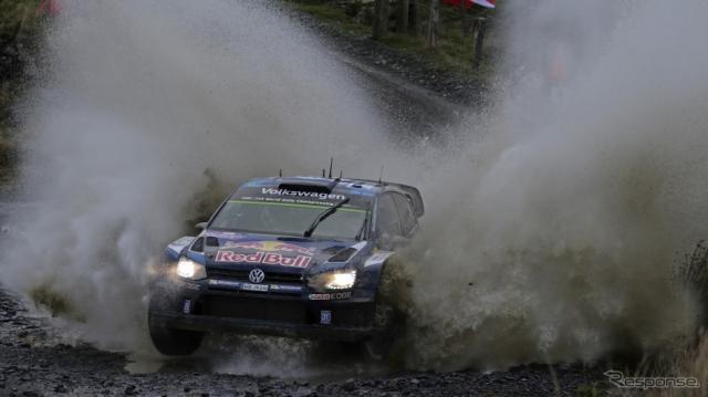 WRC第13戦 VWポロ R WRC