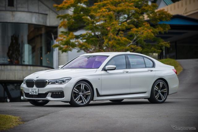 BMW 740i M Sport《撮影 太宰吉崇》