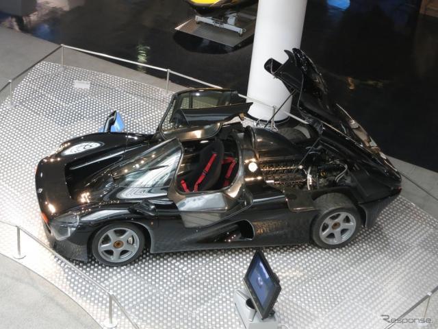 F1エンジン搭載のスーパーカー「OX99-11」《画像 ヤマハ発動機》