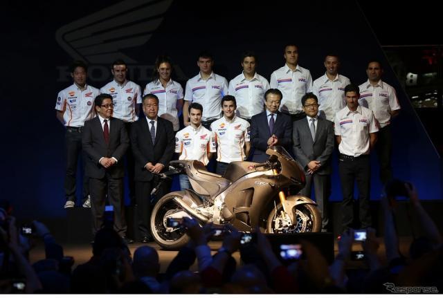 ホンダ2016年の二輪モータースポーツ参戦体制を発表《画像 ホンダ》