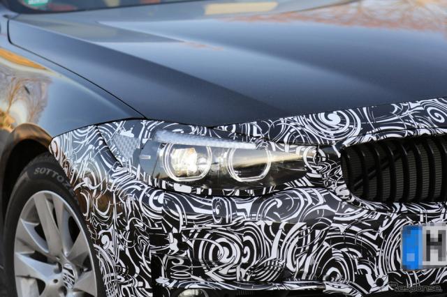 BMW 3シリーズGT スクープ写真《APOLLO NEWS SERVICE》