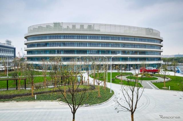 BASFイノベーション・キャンパス・アジア・パシフィック内に新たに建設された研究開発施設