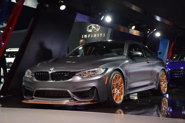 BMW M4 GTS(ロサンゼルスモーターショー15)《撮影 関 航介》