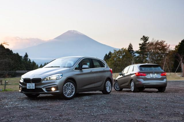 BMW 2シリーズ アクティブツアラー《撮影 太宰吉崇》
