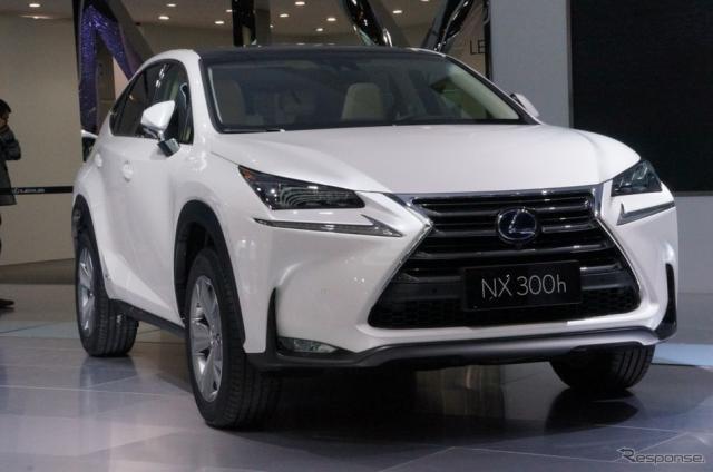 レクサス NX300h(北京モーターショー2014 )《撮影 椿山和雄》