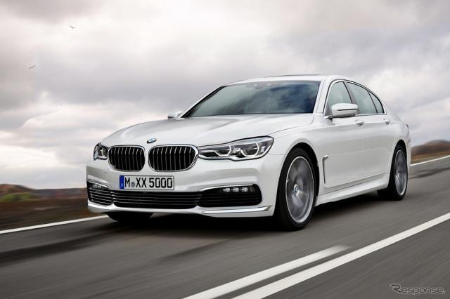 BMW 5シリーズ セダン スクープ写真《APOLLO NEWS SERVICE》