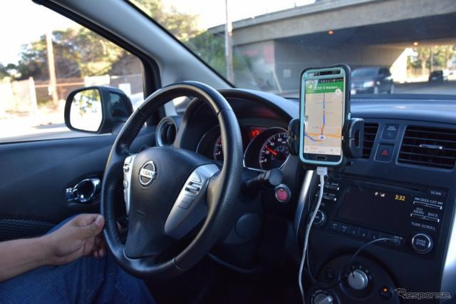 モーターショーが開催された米国ロサンゼルスで、Uberの本場におけるドライバーの生の声を拾うことに成功した。《撮影 関 航介》