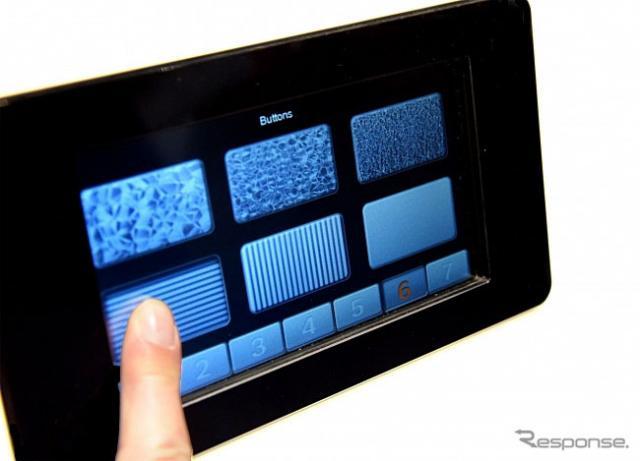 ハプティックフィードバックタイプのタッチスクリーン