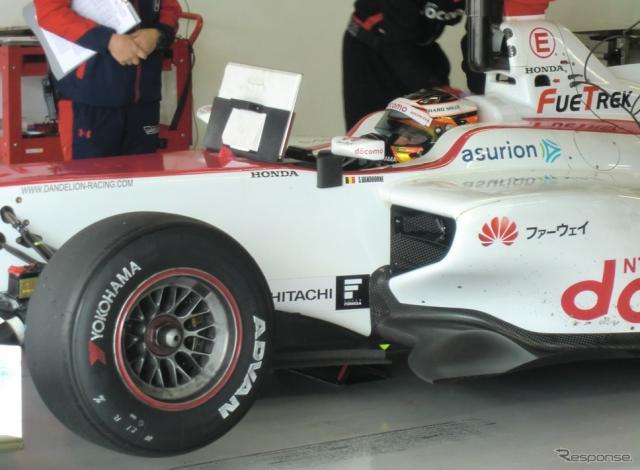 ダンディライアンの#40号車をドライブしたバンドーン。タイヤは「YOKOHAMA」。撮影:遠藤俊幸
