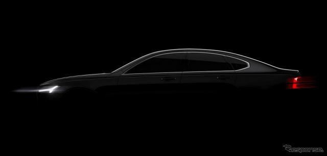 ボルボ S90 新型の予告イメージ
