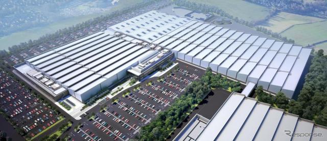 ジャガー・ランドローバーの英国エンジン工場の拡張予想図