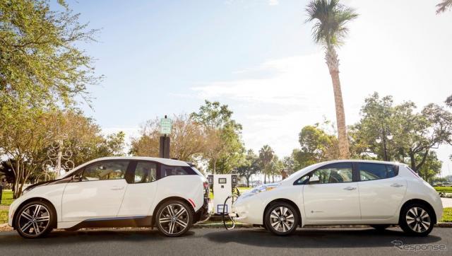 BMW i3と日産リーフ