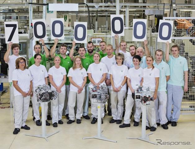 シュコダのチェコのムラダー・ボレスラフ工場