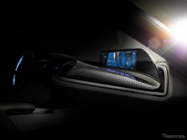 BMWビジョンカーの予告イメージ