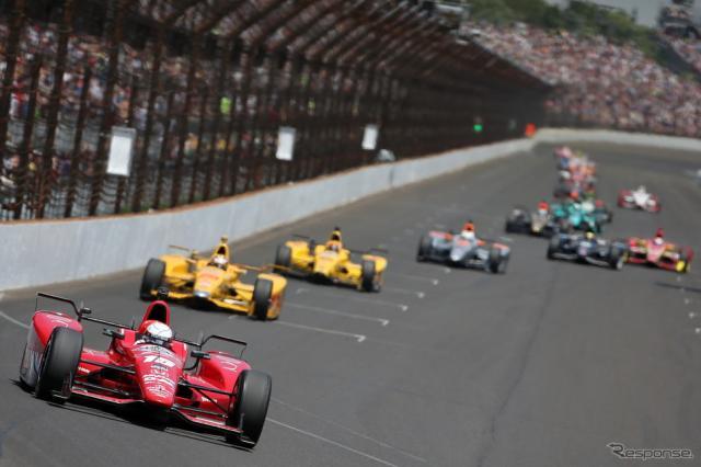 2016年のインディカー・シリーズは全16戦で開催《画像 Getty Images》