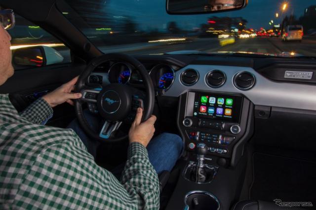 フォードのSYNC 3改良版(CarPlayに対応)