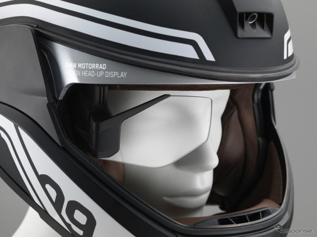 BMWモトラッド ヘッドアップディスプレイ付きヘルメット