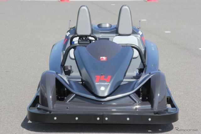 鈴鹿サーキットのアトラクションとして登場するEVカート「サーキットチャレンジャー」《撮影 吉田 知弘》