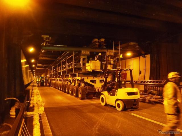 天井板落下事故があった笹子トンネル(資料画像)《提供 中日本高速》