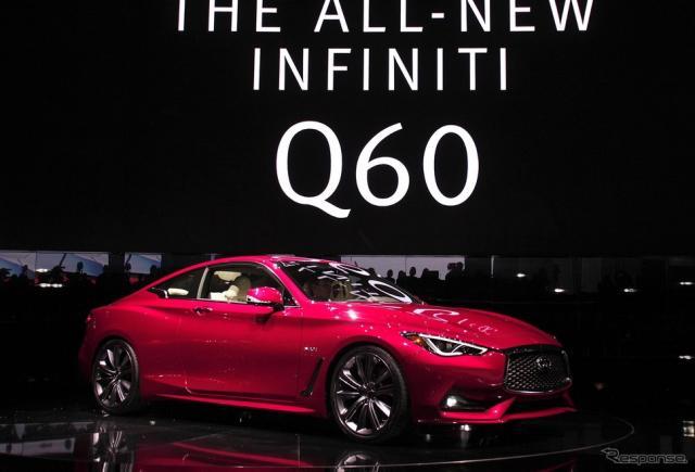 新型インフィニティQ60(デトロイトモーターショー16)《写真 Getty Images》