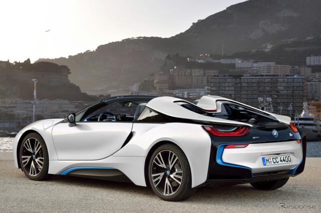 BMWi8 スパイダースクープ写真《APOLLO NEWS SERVICE》