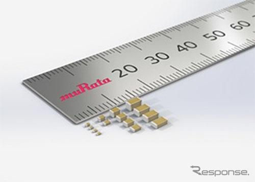 村田製作所 自動車グレード積層セラミックコンデンサGRTシリーズ
