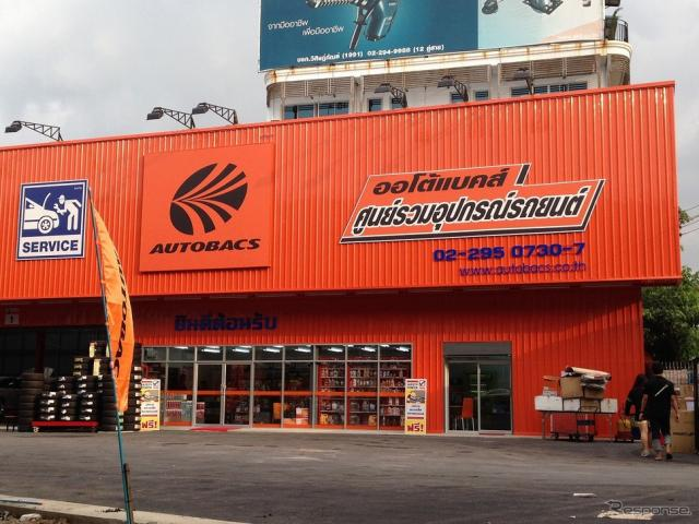 オートバックスパラマサーム店(マレーシア・参考画像)《画像 オートバックスセブン》