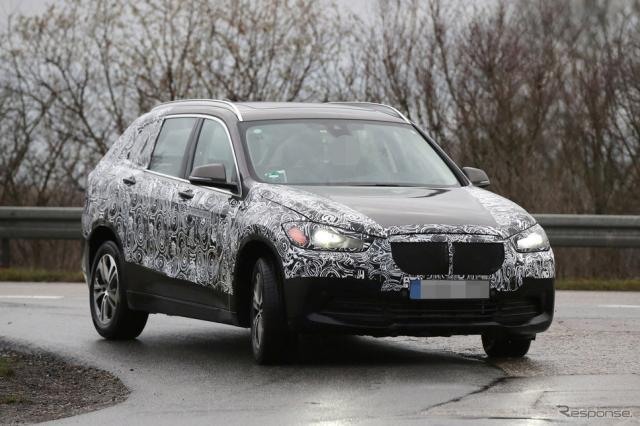 BMW グランドX1スクープ写真《APOLLO NEWS SERVICE》