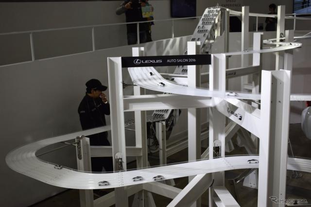 レクサスブース(東京オートサロン16)《撮影 関 航介》