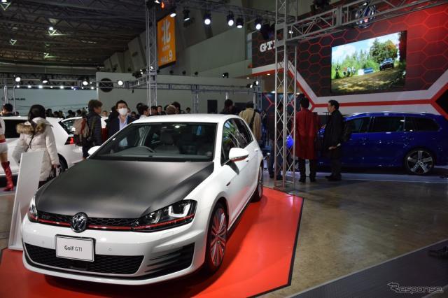 VW ゴルフ GTI(東京オートサロン16)《撮影 関 航介》