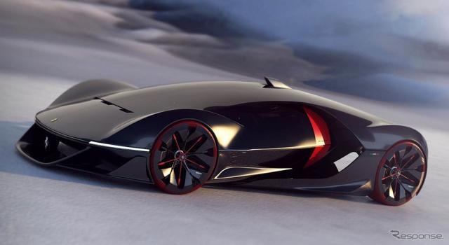 2040年のフェラーリデザインの最優秀作品「マニフェスト」