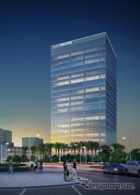 マツダの北米新本社の完成予想イメージ